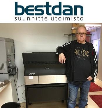 Bestdan Suunnittelutoimisto, Stratasys Objet 3D-tulostin
