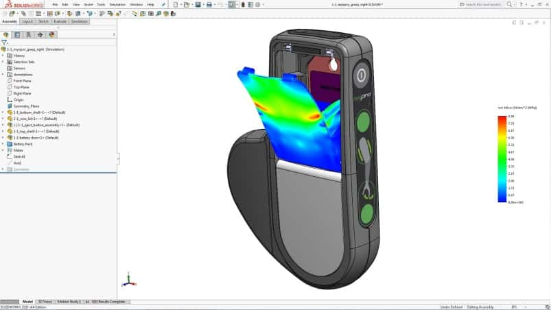 SolidWorks Simulation 2017