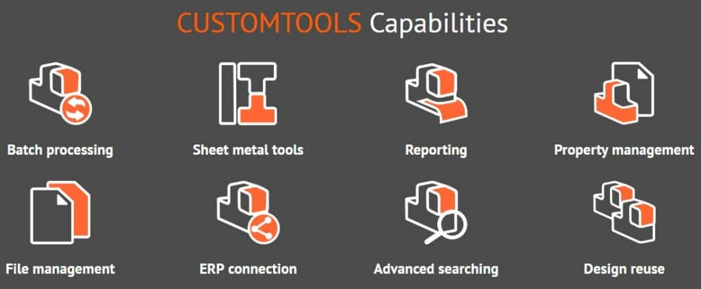 CustomTools, SolidWorks, CustomTools Cloud Connect