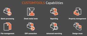 CustomToos, SolidWorks, hinta, pdf, dxf, tiedonhallinta,