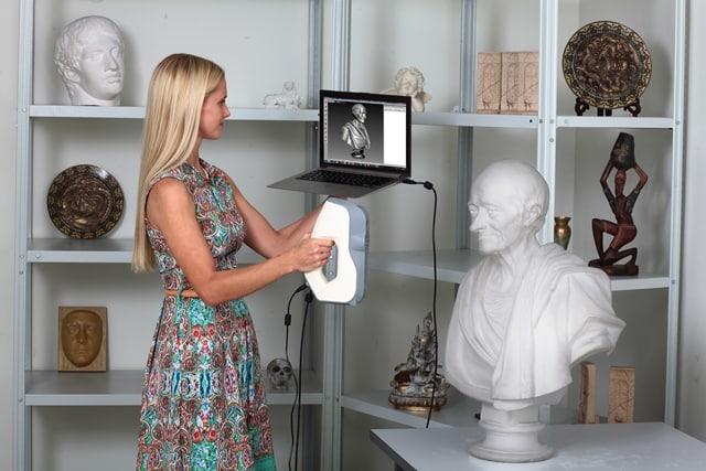 Artec-3D-scanner, 3D-skannaus