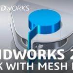 SolidWorks Mesh Modeling, SolidWorks 2018-twitter