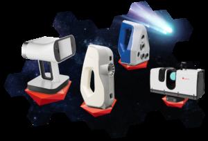 Artec, eva, space spider, leo, ray, 3d-skanneri