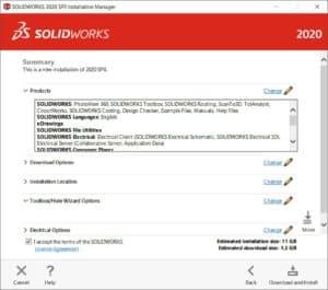 SolidWorks, asentaminen, lataaminen, tukipalvelu