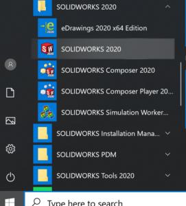 SolidWorks asennus