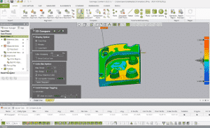 Geomagic, ControlX, 3D-skannaus, mittaus, vertaaminen, CAD-malli, solidworks, laadunvalvonta, 3D-vertailu