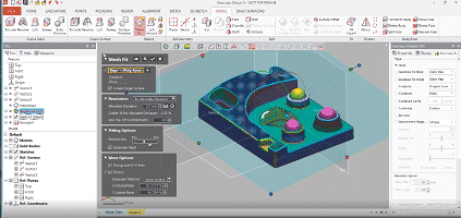 Geomagic, DesignX, 3D-skannaus, SolidWorks