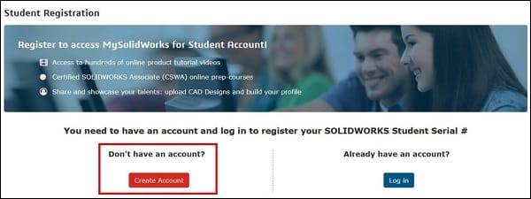 SolidWorks, opiskelija, asennus, opsikelijaversio, lataaminen, student engineering kit, sek