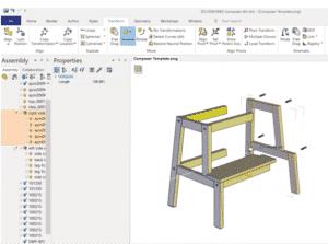 SolidWorks, Composer, Ikea, asennusohje, hinta