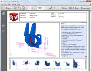 Solidworks, bodel based definition, mbd, työpiirustus, kuva, piirustus, hinta, piirustukseton valmistus
